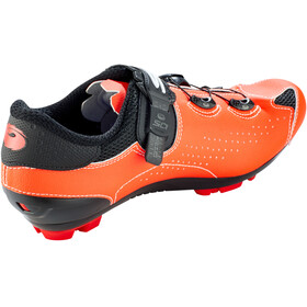 Sidi MTB Eagle 10 Chaussures Homme, black/red fluo